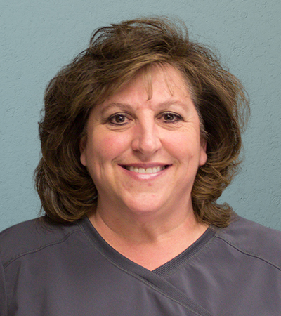 Dental hygienist Kathy