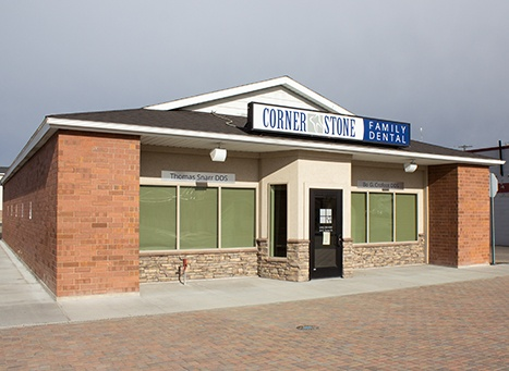 Outside view of Cornerstone Family Dental