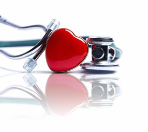 love heart and stethoscope